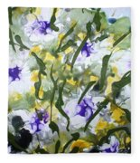 Divine Blooms-21172 Fleece Blanket