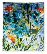 Divine Blooms-21180 Fleece Blanket