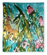 Divine Blooms-21191 Fleece Blanket