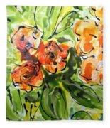 Divine Blooms-21192 Fleece Blanket