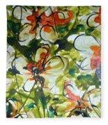 Divine Blooms-21203 Fleece Blanket