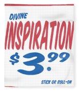 Divine Inspiration Supermarket Series Fleece Blanket