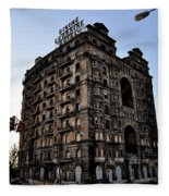 Divine Lorraine Hotel Fleece Blanket