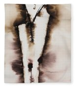 Divine Love Series No. 2042 Fleece Blanket