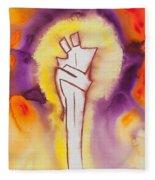 Divine Love Series No. 2084 Fleece Blanket