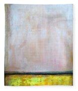 Divine Of Canola Field Fleece Blanket