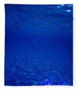 Diving ... Fleece Blanket