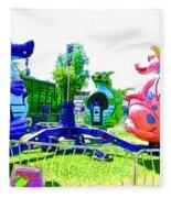 Dizzy Dragon Ride 1 Fleece Blanket