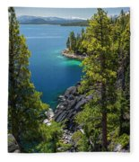 Dl Bliss Lookout By Brad Scott Fleece Blanket