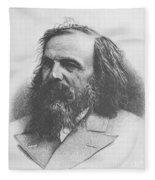 Dmitri Mendeleev, Russian Chemist Fleece Blanket