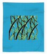 Dna Design Fleece Blanket
