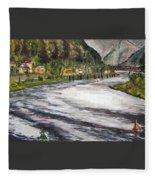 Do Nemecek Fleece Blanket