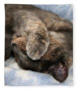 Do Not Disturb Fleece Blanket