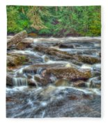 Dochart Falls Fleece Blanket