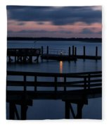 Dock Beacon Fleece Blanket