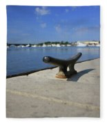 Dock's View Fleece Blanket