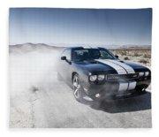 Dodge Challenger Srt8 Fleece Blanket