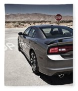 Dodge Charger Srt8 Fleece Blanket