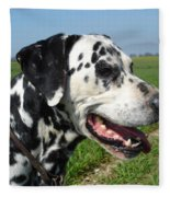 Dodgy The Dalmation Fleece Blanket