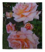 Does Roses Has Thorns Or Does Thorns Has Roses Fleece Blanket