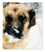 Dog Blizzard - German Shepherd Fleece Blanket