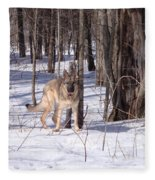 Dog Breed German Shepherd Fleece Blanket