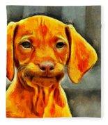 Dog Friend Fleece Blanket