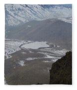 Dog Lake From Mt Clemons Fleece Blanket