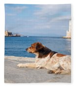 Dog Watch Fleece Blanket