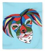Doggie Dreams - Cute Animals Fleece Blanket