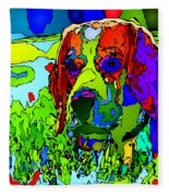 Dogs Can See In Color Fleece Blanket