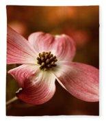 Dogwood Blossom Fleece Blanket