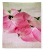 Dogwood Duet Fleece Blanket