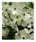 Dogwoods Fleece Blanket