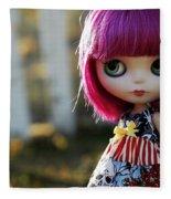Doll Fleece Blanket