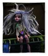 Doll X2 Fleece Blanket