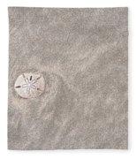 Dollar In The Sand Fleece Blanket