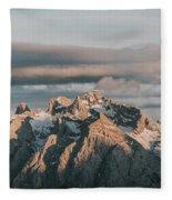 Dolomiti Fleece Blanket