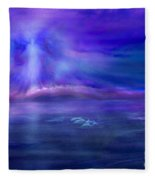 Dolphin Dreaming Fleece Blanket