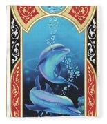 Dolphin Mecca Fleece Blanket