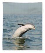 Dolphin Splash Fleece Blanket