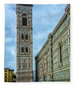 Dom Of Florence Fleece Blanket