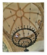 Dome Structure And Decoration Fleece Blanket