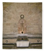 Dominican Republic Shrine Fleece Blanket