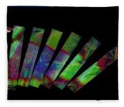 Domino Effect Fleece Blanket