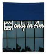 Don King Only In America Fleece Blanket