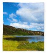 Donegal Landscape Fleece Blanket