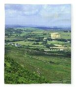 Donegal Patchwork Farmland Fleece Blanket