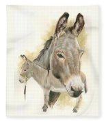 Donkey Fleece Blanket