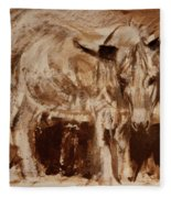 Donkey Daze Fleece Blanket